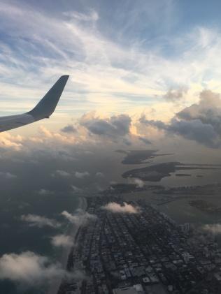 Good Bye USA (leaving Miami)