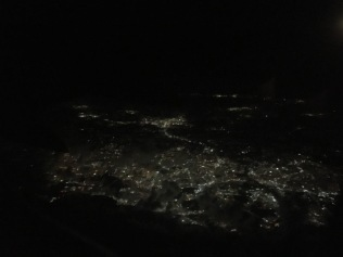 Flying over Puerto Rico
