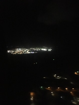 Flying over US Virgin Islands